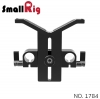 SMALLRIG® Universal Lens Support with 15mm LWS Rod Clamp 1784