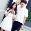 เสื้อคู่ เสื้อคู่รัก ชุดคู่รัก เสื้อคู่รักเกาหลี เสื้อคู่แฟชั่น AA005