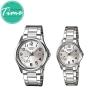 """นาฬิกาคู่ รุ่น 1369 Standard Analog """"Silver"""""""