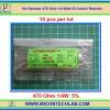 10x Resistor 470 Ohm 1/4 Watt 5% Cabon Resistor