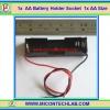1x AA Battery Holder Socket 1x AA Size (กะบะถ่าน AA ขนาด 1 ก้อน)