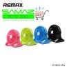 ราคาพิเศษ Remax F3 Mini Fan พัดลม USB แบบพกพา เบา แรง ปรับแรงลม ปรับหมุน แบตในตัว