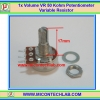 1x Volume VR 50 Kohm (15mm) Potentiometer Variable Resistor