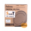 62mm Selens Adjustable ND Filter ND2-ND450 Filter