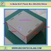 1x Model:B-07 Plastic Box 260x220x100mm