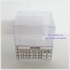 กล่องคัพเค้ก มาการอง 4.5 x 4.5 x 5 cm