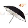 Umbrella ร่มสะท้อน Reflector 110cm (43Inch)