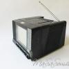 ทีวีวิทยุกระเป๋าหิ้วสีดำ