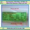 10x Resistor 100 Kohm 1/8 Watt 1% Metal film Resistor (10pcs per lot)