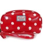 กระเป๋าสตางค์ Chalita wu สีแดงจุด