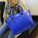 กระเป๋าแฟชั่น สีน้ำเงิน
