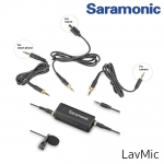 Saramonic LavMic - Premium Lavalier Microphone with 2-Channel Audio Mixer and Outputs for iPhone/Android Smartphones, GoPro, DSLR Cameras, Camcorders & Portable Recorders