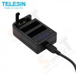 TELESIN Multi-Charger for GoPro Hero4
