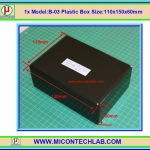 1xModel:B-03 Plastic Box 110x150x60mm
