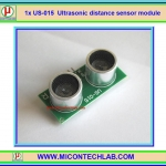 1x US-015 Ultrasonic distance sensor module