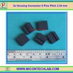 5x Housing Connector 6 Pins Pitch 2.54 mm (คอนเน็คเตอร์แบบ 6 ขา)