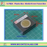 1x FB24 Plastic Box 45x42x16 mm Future Box