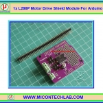 1x L298P Motor Drive Shield Module For Arduino
