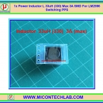 1x Power Inductor L 33uH (330) Max 3A SMD For LM2596 Switching PPS