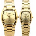 นาฬิกาคู่ นาฬิกาคู่รัก นาฬิกาคู่รัก ราคาถูก นาฬิกาเซตคู่ นาฬิกาข้อมือคู่ นาฬิกาข้อมือคู่รัก นาฬิกาคู่ นาฬิกา CASIO นาฬิกาคู่ เรือนทอง รุ่น MTP-1169N-9A กับ LTP-1169N-9A ประกันศูนย์ 1 ปีเต็ม