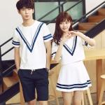 เสื้อคู่ เสื้อคู่รัก ชุดคู่รัก เสื้อคู่รักเกาหลี เสื้อคู่แฟชั่น AA004