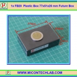 1x FB20 Plastic Box 77x51x20 mm Future Box