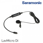 Saramonic LavMicro-Di Broadcast-Quality Lavalier Omnidirectional Microphone with Apple MFi Certified Lightning Connector for iPhone, iPad, iPod, iOS Smartphones & Tablets