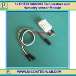 1x DHT22 /AM2302 Temperature and Humidity sensor Module
