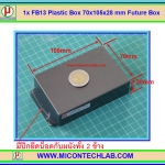 1x FB13 Plastic Box 70x105x28 mm Future Box