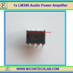 1x LM386 Audio Power Amplifier 325mW 4-12V LM386N-1 IC Chip
