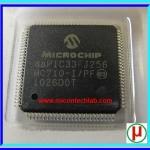 1x dsPIC33FJ256MC710-I/PF 16-Bit Digital Signal Controller IC CHIP