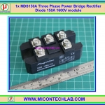 1x MDS150A Three Phase Power Bridge Rectifier Diode 150A 1600V module