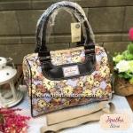 กระเป๋า Chalita wu + สายสะพาย สีม่วง ลายนาฬิกา