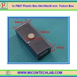 1x FB07 Plastic Box 64x164x36 mm Future Box