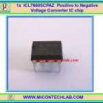 1x ICL7660 Positive to Negative Voltage Converter ICL7660SCPAZ -1.5 TO -12VDC
