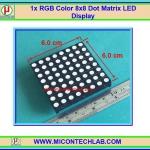 1x RGB Color 8x8 Dot Matrix LED Display RGB Full Color