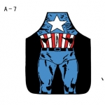 ผ้ากันเปื้อนแฟนซี ลาย Captain America
