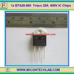 1x BTA26-600 Triacs 25A 600V BTA26 IC Chip