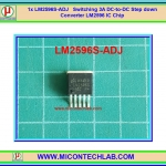 1x LM2596S-ADJ Switching 3A DC-to-DC Step down Converter LM2596 IC Chip