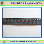 1x AMS1117 -5.0 V Regulator 5.0V 1Amp Compatible LM1117 5.0V IC chip