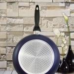 กระทะเคลือบ NONSTICK FRY PAN รุ่น induction ขนาด 26 cm สีน้ำเงินเข้ม