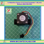 1x เซ็นเซอร์วัดอัตราการไหลน้ำ SEN-HZ21WA G1/2 1-30 L/min (Waterflow Sensor)