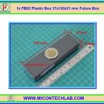 1x กล่อง FB02 สีดำ ขนาด 37x120x21 mm Future Box
