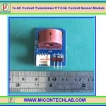 1x AC Current Transformer CT 0-5A Current Sensor Module