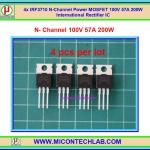 4x IRF3710 N-Channel 100V 57A 200W Power MOSFET IR IC