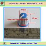 1x Volume Control Blue Color (ลูกบิดสำหรับวอลลุ่ม)