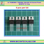 4x TK58E06N1 TOSHIBA 105A 60V N-Channel Power MOSFET IC Chip