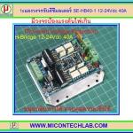 1x บอร์ดขับดีซีมอเตอร์ SE-HB40-1 พิกัด 12-24Vdc 40A (H-Bridge DC Motor Drive)