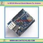 1x แผงวงจรชีลด์อีเทอเน็ต W5100 Ethernet Shield Module For Arduino