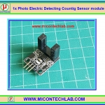 1x Photo Electric Detecting Countig Sensor module